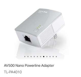 TP-LINK Powerline Adaptor (Wireless Internet)