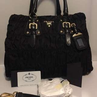 2b48a4aae6d7 💯Brand New & Authentic Prada BN2346 Tessuto Gaufre Tote Bag