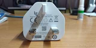 全新QC 2.0 QC 3.0 MTK-PE USB英規快速充電器