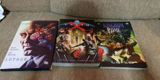 Assorted DC titles, luthor kingdom come