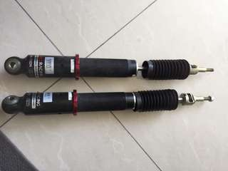 Adjustable for Volkswagen mk6 or mk5 (high low soft hard)