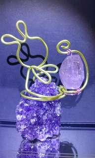 紫水晶原石配 紫水晶晶簇