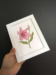 Handmade Watercolor Painting
