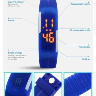 Sale Wristband Led sport watch silicon -unisex