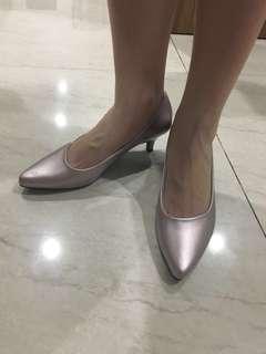 Heels vincci metallic pink / champagne