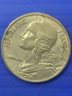 France 5 Centimes Y1977
