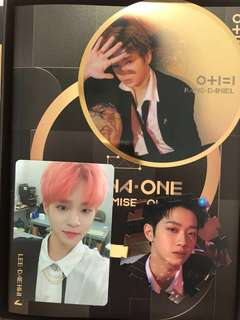 wanna one ipu album wtt/wts