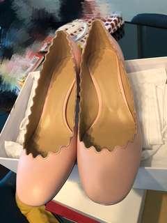 Chloe pink heels size 38