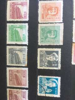 Old stamps of China