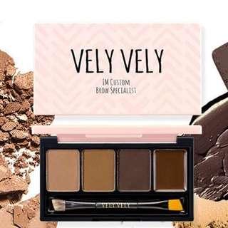 BNIB Vely Vely Im Custom Brow Specialist