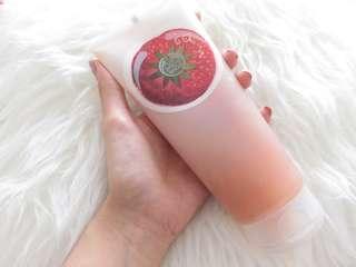 Body shop body sorbet strawberry