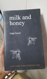 Milk and honey by rupi kaur
