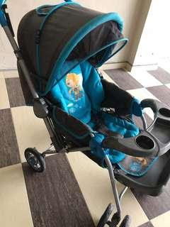 My dear stroller with infant carrier