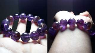 14mm Dark Ametrine Bracelet