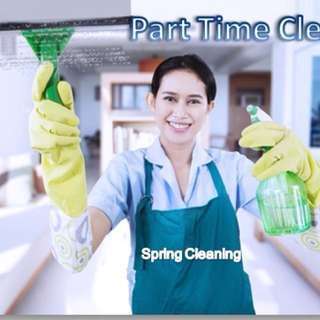 Part time Cleaner daily or night