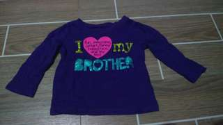 Place long sleeves (purple)