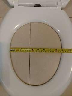 全新緩降靜音快拆U型廁所板