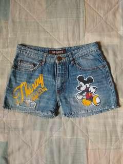Mickey Mouse Denim Shorts (27)