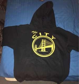 Golden state hoodie ( medium size )