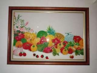 Glass Painting (Solidarity Php12000, Last Supper Php12000, Fruits Php10000)
