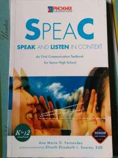 Oral Communication K12 Senior High School Book Grade 11 & 12