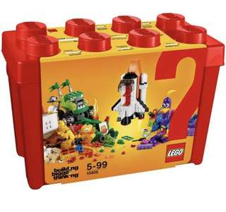 Lego Classic Box Mission To Mars 10405