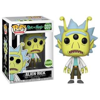 Rick and Morty - Alien Rick Pop! Vinyl Figure (2018 Spring Convention Exclusive)