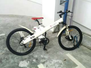 LTA APPROVED Blue Tag + No. Plate 26 inch Ebike / Electric Motor Bicycle Bike 20