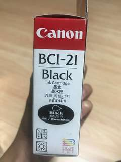 Canon Ink BCI-21 BLACK
