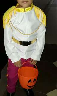 Prince Charming Costume Kids XL
