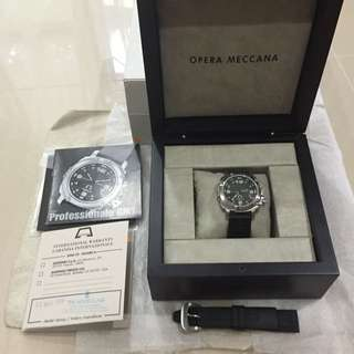 Very Mint Condition Anonimo Professionale GMT Plain Dial Limited Edition Watch for sale