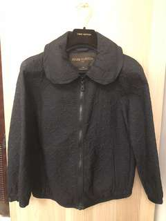 Louis Vuitton Black Monogram Jacket size 36