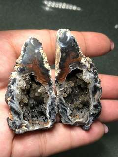 Mini Agate Geode thunder eggs 迷你雷公蛋