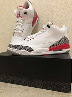 Air Jordan 3 Katrina/ Hall Of Fame US 13
