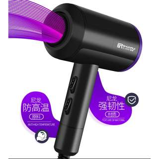 Professional hair dryer high power cold and hot mute does not hurt hair
