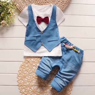 SB 052 Baby Boy Casual Fashion Set Wear