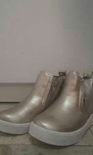 H&M Gold Boots NEW