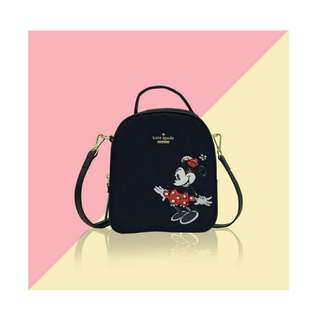 KATE SPADE Black small backpack