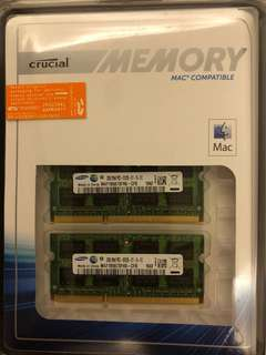 Crucial 4GB DDR3 (2GBx2) (MAC compatible)