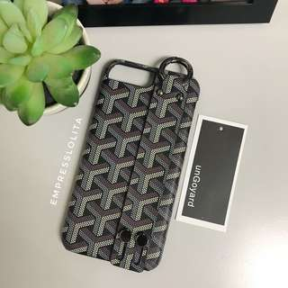 Almost New iPhone 7/8 plus back cover/case Goyard inspired