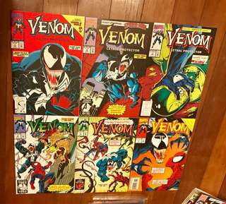 Marvel Comics Venom Lethal Protector Mini-Series #1-6 Complete Set NM/NM- Spider-Man