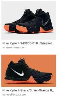 Nike kyrie 4 organ black