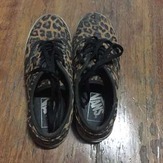 authentic vans limited edition cheetah print
