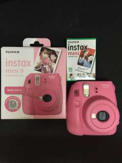 Instax Mini 9 (Flamingo Pink)