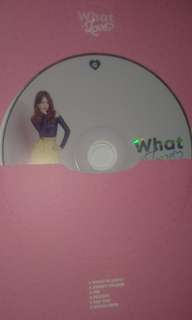 Wts tzuyu what is love cd