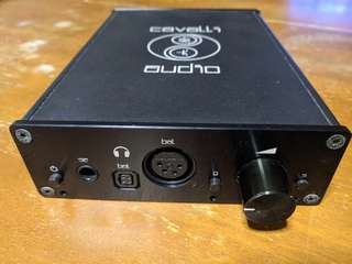 Cavalli Audio Liquid Carbon Balanced Headphone Amp