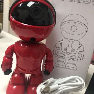 Robot Figurine Camera/CCTV