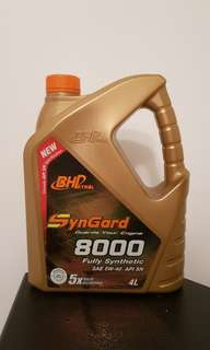 Engine Oil ~ BHP Syngard 8000 Fully Synthetic