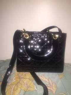 Tas dior hitam / tas pergi / tas hitam