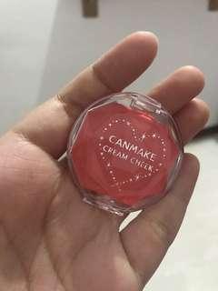 Canmake cream blush on